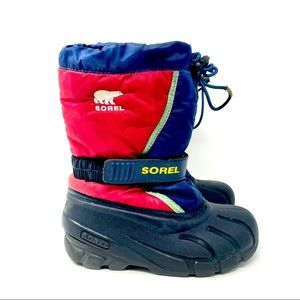 Sorel Insulated Waterproof Snow Boots Size 1